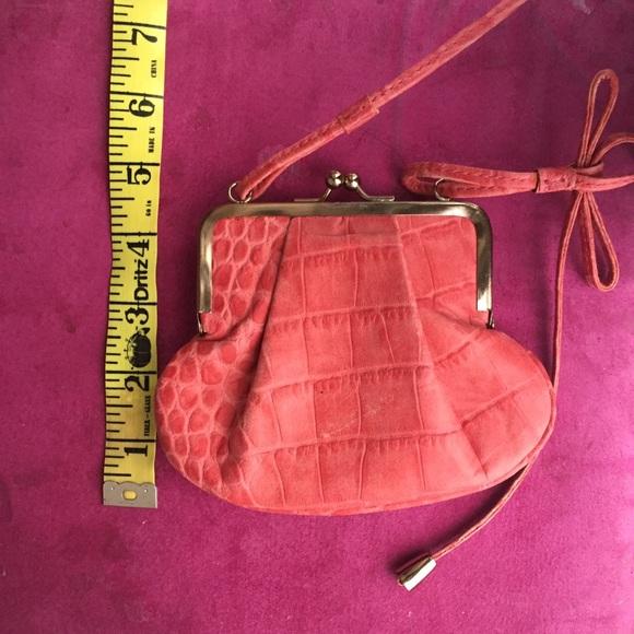 ac0529c0f50c Armani pressed leather mini bag. NWT. Emporio Armani